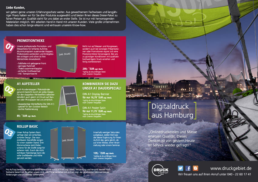 Druckerei Hamburg